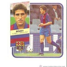Cromos de Fútbol: EDICIONES ESTE 89-90 ROURA (BARCELONA) CROMO DIFICIL. Lote 40265890