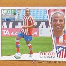 Cromos de Fútbol: ATLETICO DE MADRID - LUCCIN - FICHAJE Nº 21 - EDICIONES ESTE 2004-2005, 04-05 NUNCA PEGADO. Lote 222665882