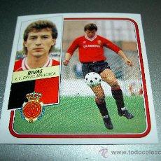 Cromos de Fútbol: CROMO BAJA RIVAS MALLORCA CROMOS ALBUM EDICIONES ESTE LIGA FUTBOL 1989-1990 89-90 . Lote 24147418