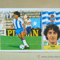 Cromos de Fútbol: CROMO DE FUTBOL, LIGA 86 87, 1986 - 1987, ROBI, ESPAÑOL, COLOCA, ESTE. Lote 27157665
