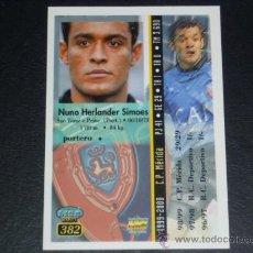 Cromos de Fútbol: MUNDICROMO 2000/2001 - 382 NUNO - AT. OSASUNA. 00/01. ( ) . Lote 24181712