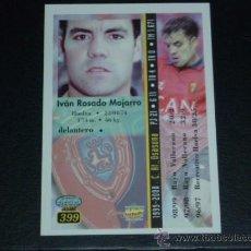Cromos de Fútbol: MUNDICROMO 2000/2001 - 399 IVÁN ROSADO - AT. OSASUNA. 00/01. ( ) . Lote 24181915