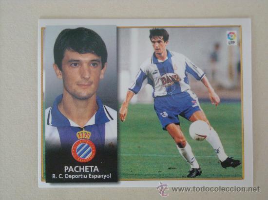 ESTE 98-99 PACHETA ESPANYOL 1998-1999 NUEVO (Coleccionismo Deportivo - Álbumes y Cromos de Deportes - Cromos de Fútbol)