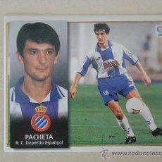 Cromos de Fútbol: ESTE 98-99 PACHETA ESPANYOL 1998-1999 NUEVO. Lote 24427707