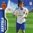 Cromos de Fútbol: BERTOLO (REAL ZARAGOZA) Nº 359 BIS COLECCION MEGACRACKS 2010/2011 + REGALO*. Lote 24914682