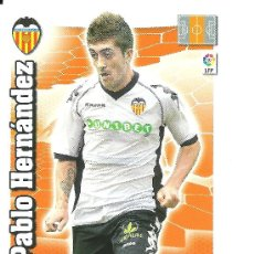 Cromos de Fútbol: ADRENALYN 2010-2011 PANINI - PABLO HERNANDEZ (VALENCIA). Lote 24921057