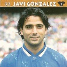 Cromos de Fútbol: TOP LIGA 2003 JAVI GONZALEZ-ATHLETIC CLUB. Lote 25221248