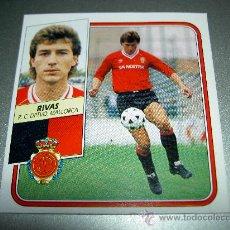 Cromos de Fútbol: CROMO BAJA RIVAS MALLORCA CROMOS ALBUM EDICIONES ESTE LIGA FUTBOL 1989-1990 89-90. Lote 25391009