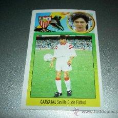 Cromos de Fútbol: CROMO CARVAJAL SEVILLA CROMOS ALBUM EDICIONES ESTE LIGA FUTBOL 1993-1994 93-94 . Lote 25438012