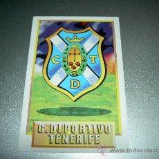Cromos de Fútbol: CROMO ESCUDO TENERIFE CROMOS ALBUM EDICIONES ESTE LIGA FUTBOL 1993-1994 93-94. Lote 112125386