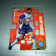 Cromos de Fútbol: CROMO CRYSTALCARDS 266 ZABALETA ESPAÑOL ESPANYOL CROMOS LIGA FTBOL MUNDICROMO 2006-2007 06-07 . Lote 25536485