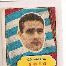 Cromos de Fútbol: CROMO DEL MÁLAGA (SOTO). Lote 25672485