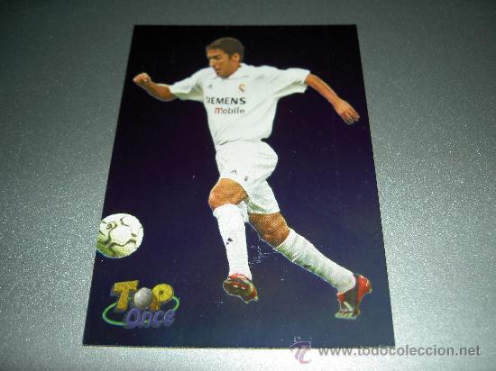 626 RAUL TOP ONCE REAL MADRID CROMOS ALBUM MUNDICROMO FICHAS LIGA FUTBOL 2002 2003 02 03 (Coleccionismo Deportivo - Álbumes y Cromos de Deportes - Cromos de Fútbol)