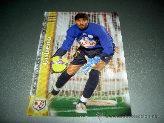 799 COBEÑO RAYO VALLECANO CROMOS ALBUM MUNDICROMO FICHAS LIGA QUIZ GAME 2009-2010 09-10 (Coleccionismo Deportivo - Álbumes y Cromos de Deportes - Cromos de Fútbol)