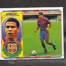 Cromos de Fútbol: RONALDO DOBLE CROMO DEL BARCELONA VERSION DIFICIL ALBUM ESTE LIGA 1996 - 1997 ( 96 - 97 ) . Lote 26185799