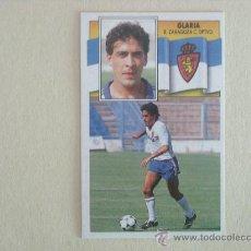 Cromos de Fútbol: ESTE 90-91 GLARIA ZARAGOZA 1990-1991 NUEVO. Lote 26583990