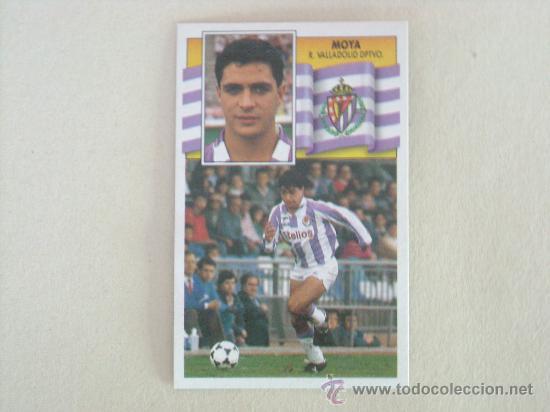 ESTE 90-91 MOYA VALLADOLID 1990-1991 NUEVO (Coleccionismo Deportivo - Álbumes y Cromos de Deportes - Cromos de Fútbol)