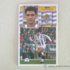 Football Stickers - ESTE 90-91 MOYA VALLADOLID 1990-1991 NUEVO - 26584036