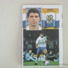 Cromos de Fútbol: ESTE 90-91 ISIDRO TENERIFE 1990-1991 NUEVO. Lote 26584289
