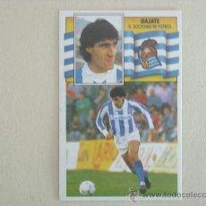 Cromos de Fútbol - ESTE 90-91 GAJATE REAL SOCIEDAD 1990-1991 NUEVO - 26584362