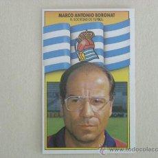Cromos de Fútbol - ESTE 90-91 BORONAT REAL SOCIEDAD 1990-1991 NUEVO - 26584665