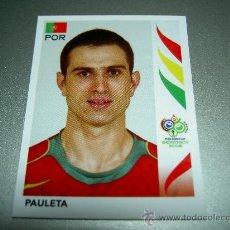 Cromos de Fútbol: 300 PAULETA PORTUGAL CROMOS ALBUM FIFA WORLD CUP GERMANY 2006 MUNDIAL FUTBOL ALEMANIA PANINI. Lote 140129929