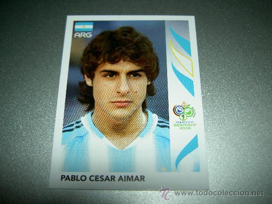 Panini WORLD CUP 2006-Pablo César Aimar Argentina Nº 177