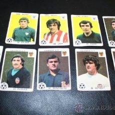 Cromos de Fútbol: LOTE CROMOS AÑOS 70 VALENCIA C.F. Y ATHLETIC DE BILBAO FUTBOL IRIBAR ZALDUA BOTUBOT LASA CORDERO .... Lote 26958018