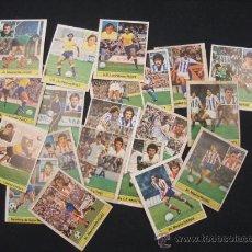 Cromos de Fútbol: LOTE 20 CROMOS - LIGA 81-82 - EDICIONES ESTE - (DESPEGADOS DEL ALBUM) - . Lote 27048753