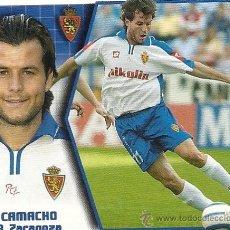 Cromos de Fútbol: EDICIONES ESTE LIGA 2005-2006. R. ZARAGOZA, CAMACHO.. Lote 27265394