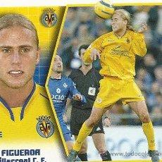 Cromos de Fútbol: EDICIONES ESTE LIGA 2005-2006. VILLARREAL C.F. , FIGUEROA.. Lote 27269365