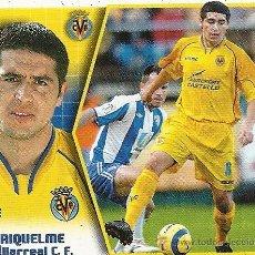 Cromos de Fútbol: EDICIONES ESTE LIGA 2005-2006. VILLARREAL C.F. , RIQUELME.. Lote 27270969