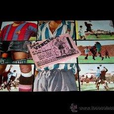 Cromos de Fútbol: SOBRE ORIGINAL + 9 CROMOS R.C.D ESPAÑOL, CORUÑA...,FÚTBOL CROMOS VENCEDOR, ED BRUGUERA, AÑO 1944-45. Lote 23504494