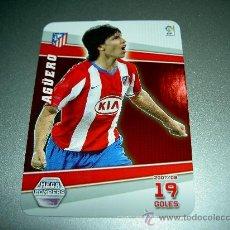 Cromos de Fútbol: 399 AGUERO AT. MADRID MEGABOMBERS ALBUM CROMOS LIGA FUTBOL MEGACRACKS 2008 2009 08 09. Lote 263190435