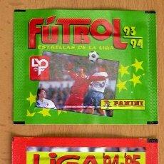 Cromos de Fútbol: 2 SOBRES SIN ABRIR DE PANINI - TEMPORADAS 93-94, 94-95,. Lote 27743486