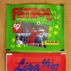 Cromos de Fútbol: 2 SOBRES SIN ABRIR DE PANINI - TEMPORADAS 93-94, 96-97. Lote 27743513
