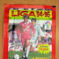 Cromos de Fútbol: 2 SOBRES SIN ABRIR DE PANINI - TEMPORADAS 94-95, 95-96. Lote 27743527