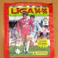 Cromos de Fútbol: 2 SOBRES SIN ABRIR DE PANINI - TEMPORADAS 94-95, 96-97. Lote 27743559