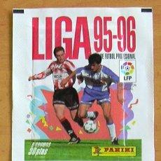 Cromos de Fútbol: 2 SOBRES SIN ABRIR DE PANINI - TEMPORADAS 95-96, 96-97. Lote 27743573