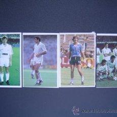Cromos de Fútbol: REAL MADRID - CROMOS CANO FUTBOL 86 ( LIGA 1985/86 ) - 3 CROMOS DIFERENTES NUEVOS. Lote 27750177
