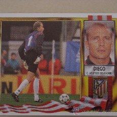 Cromos de Fútbol: ESTE 95-96 BAJA DIEGO ATLETICO MADRID 1995-1996 NUEVO. Lote 245109020
