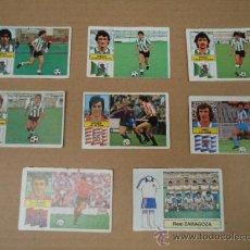 Cromos de Fútbol: LOTE 8 CROMOS FUTBOL LIGA 82 - 83 EDICIONES ESTE. Lote 27933990