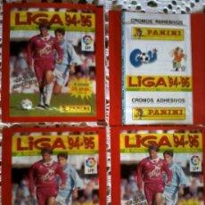 Cromos de Fútbol: SOBRES SIN ABRIR 4 SOBRE 94 95 FUTBOL LIGA PANINI NUEVOS. Lote 172954652
