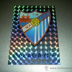 Cromos de Fútbol: 148 ESCUDO VERSION DIAMANTES MALAGA CROMOS ALBUM MUNDICROMO FICHAS LIGA FUTBOL 2001 2002 01 02. Lote 222711170