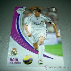 Cromos de Fútbol: CROMO 179 RAUL REAL MADRID CROMOS ALBUM LIGA FUTBOL MEGACRACKS 2007 2008 07 08 PANINI. Lote 46266431