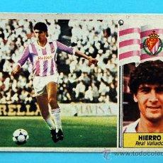 Cromos de Fútbol: EDICIONES ESTE - LIGA 1986-1987, 86-87 - REAL VALLADOLID - HIERRO II - ÚLTIMOS FICHAJES Nº 15. Lote 28494329