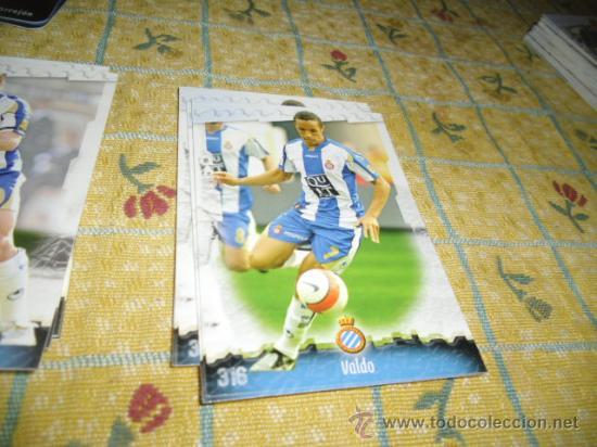 LA FICHA DE LA LIGA 2008 2009 MUNDICROMO ESPAÑOL Nº 316 VALDO (Coleccionismo Deportivo - Álbumes y Cromos de Deportes - Cromos de Fútbol)