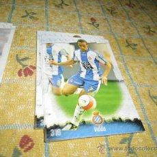 Cromos de Fútbol: LA FICHA DE LA LIGA 2008 2009 MUNDICROMO ESPAÑOL Nº 316 VALDO. Lote 243920405