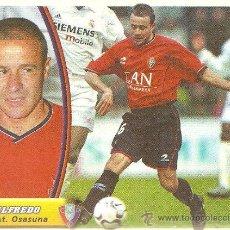 Cromos de Fútbol: . CROMO. ED. ESTE. TEMPORADA 2003 - 2004 (03-04). ALFREDO (OSASUNA). Lote 28615066