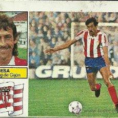 Cromos de Fútbol: CROMO DE FUTBOL LIGA 82/83 - MESA - SPORTING DE GIJÓN - EDICIONES ESTE. Lote 28565318